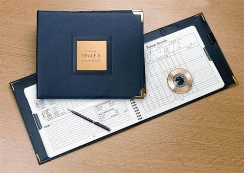 Weems & Plath Leather logbook Cover